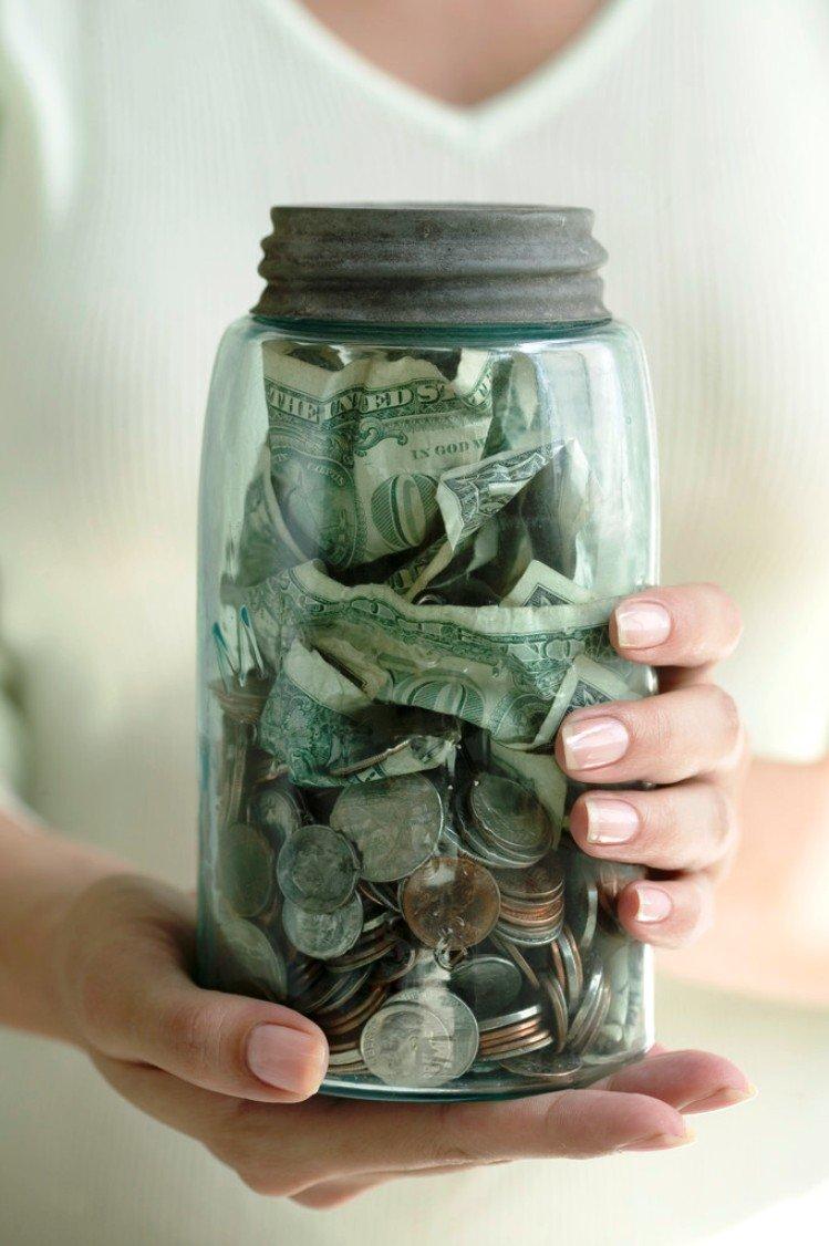 Как сделать банку с деньгами